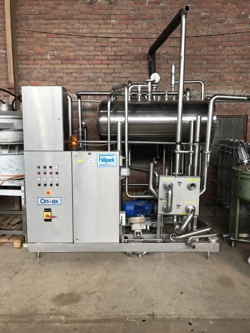 Vakuum-Entgasungsanlage GEA/Füllpack Art.2017